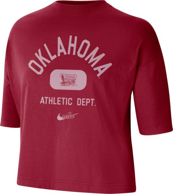 Nike Women's Oklahoma Sooners Crimson Boxy T-Shirt product image