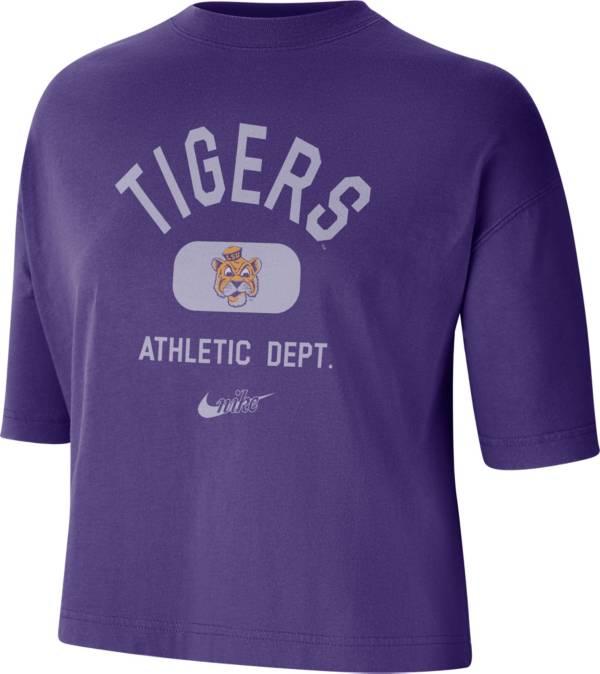 Nike Women's LSU Tigers Purple Boxy T-Shirt product image