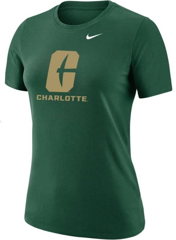 Nike Women's Charlotte 49ers Green Dri-FIT Cotton T-Shirt product image