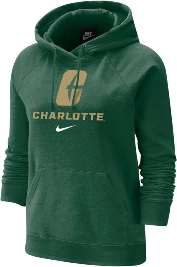 Nike Women's Charlotte 49ers Green Varsity Pullover Hoodie product image
