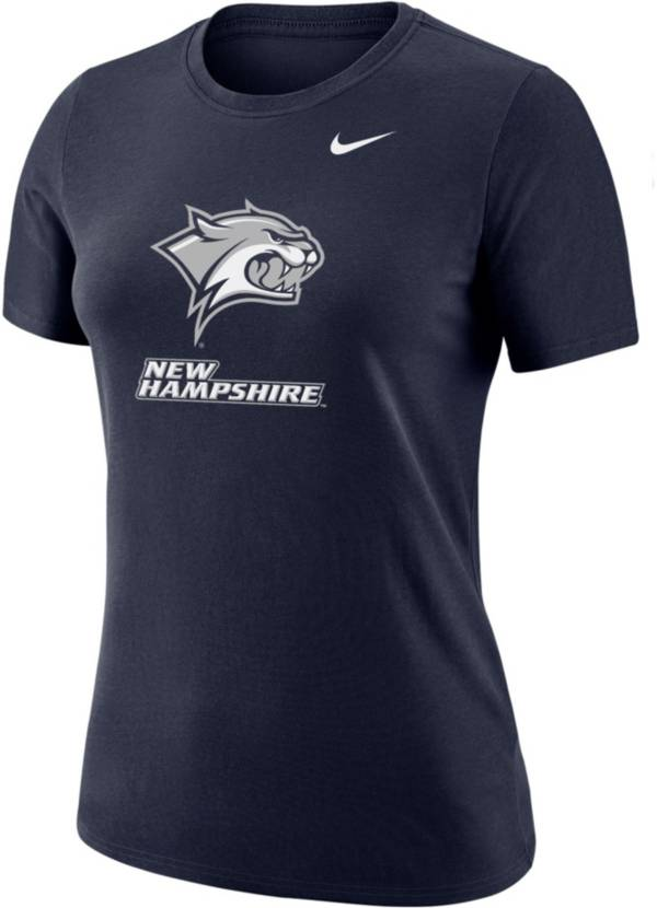 Nike Women's New Hampshire Wildcats Blue Dri-FIT Cotton T-Shirt product image