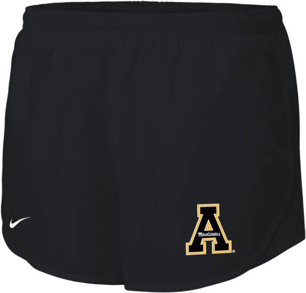 Nike Women's Appalachian State Mountaineers Dri-FIT Tempo Black Shorts product image