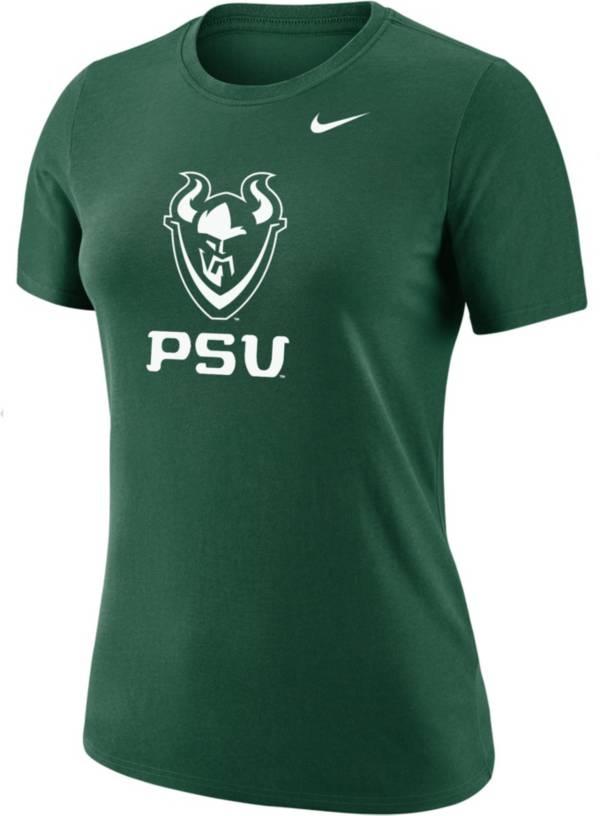 Nike Women's Portland State Vikings Green Dri-FIT Cotton T-Shirt product image