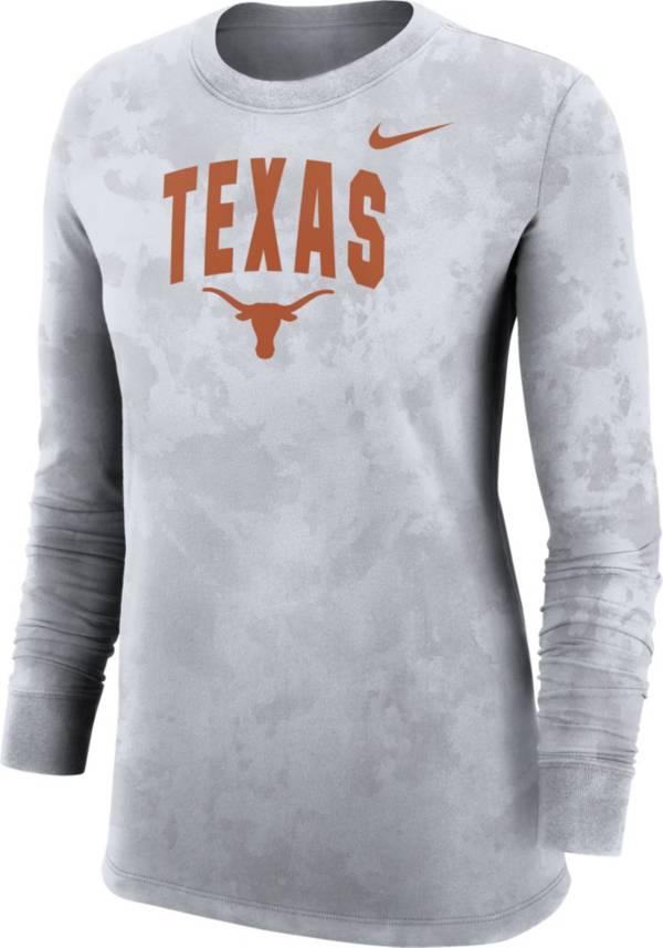 Nike Women's Texas Longhorns White Long Sleeve Cotton T-Shirt product image