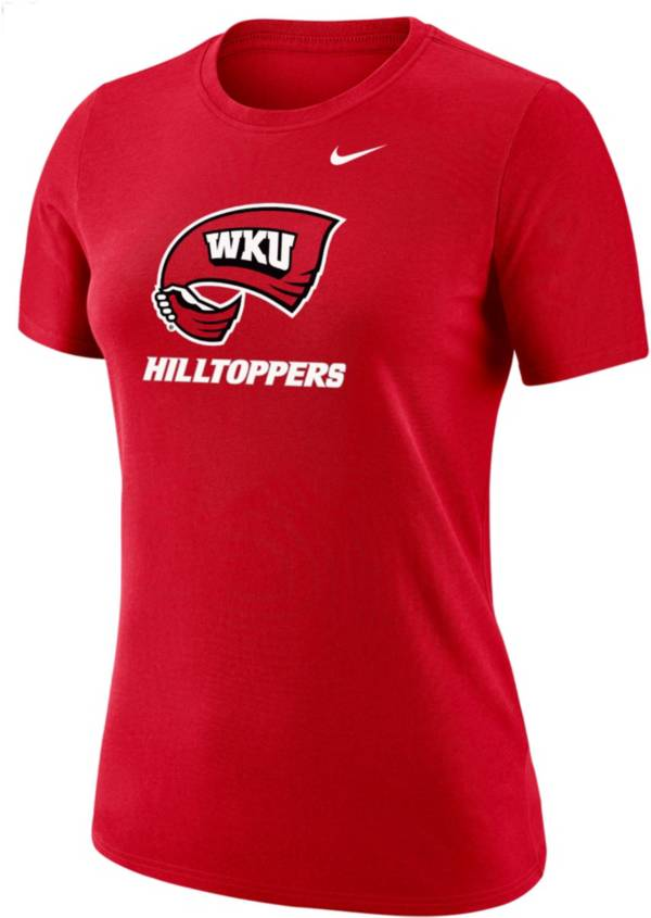 Nike Women's Western Kentucky Hilltoppers Red Dri-FIT Cotton T-Shirt product image