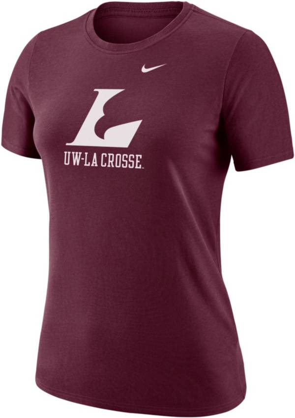 Nike Women's UW-La Crosse Eagles Maroon Dri-FIT Cotton T-Shirt product image