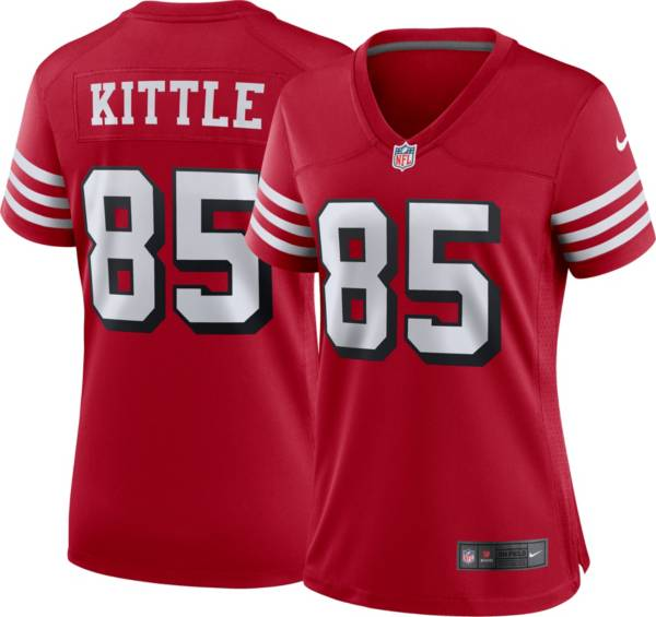 Nike Women's San Francisco 49ers George Kittle #85 Alternate Red Game Jersey product image