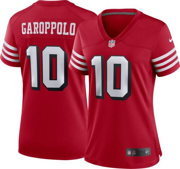 Nike Women's San Francisco 49ers Jimmy Garoppolo #10 Alternate Red Game Jersey product image