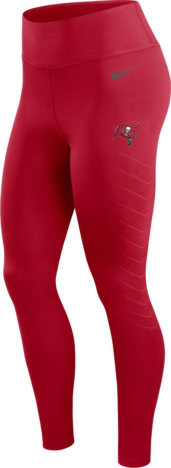 Nike Women's Tampa Bay Buccaneers Dri-FIT Red Performance Leggings product image