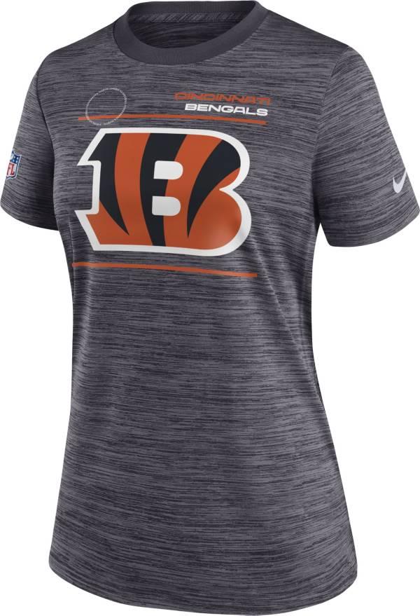 Nike Women's Cincinnati Bengals Sideline Legend Velocity Black Performance T-Shirt product image