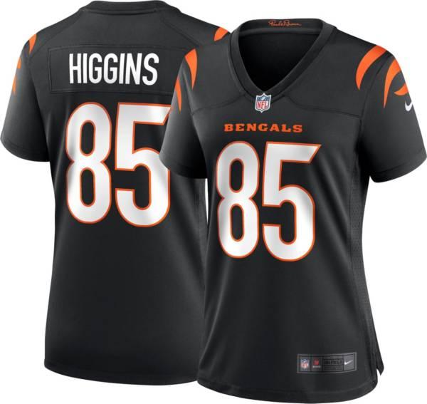 Nike Women's Cincinnati Bengals Tee Higgins #85 Black Game Jersey product image