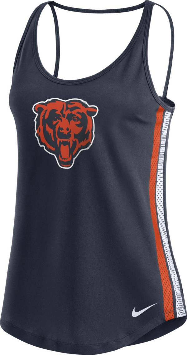 Nike Women's Chicago Bears Dri-FIT Navy Performance Tank Top product image