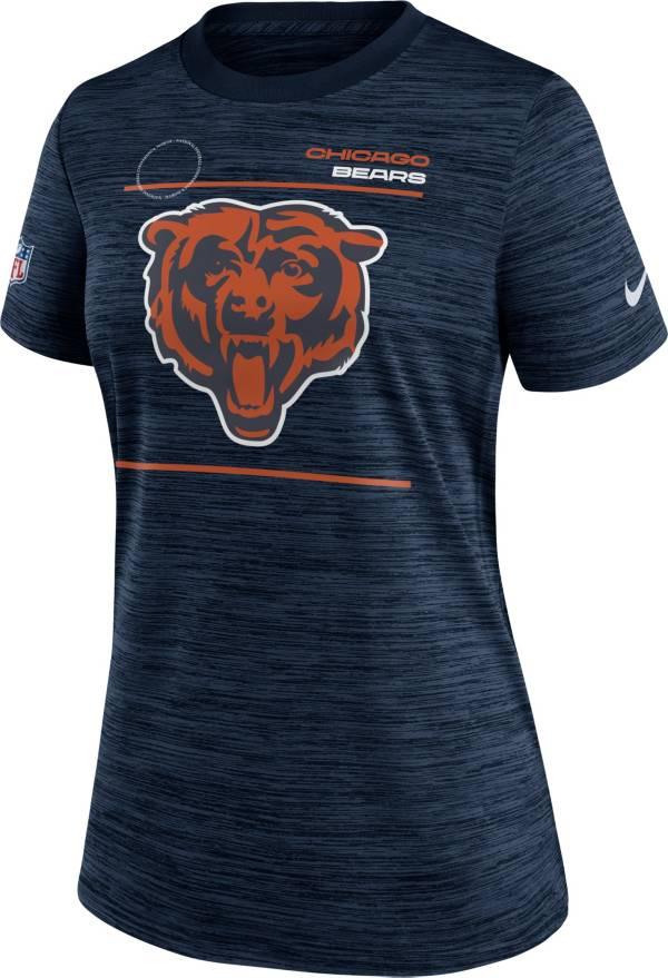 Nike Women's Chicago Bears Sideline Legend Velocity Navy Performance T-Shirt product image