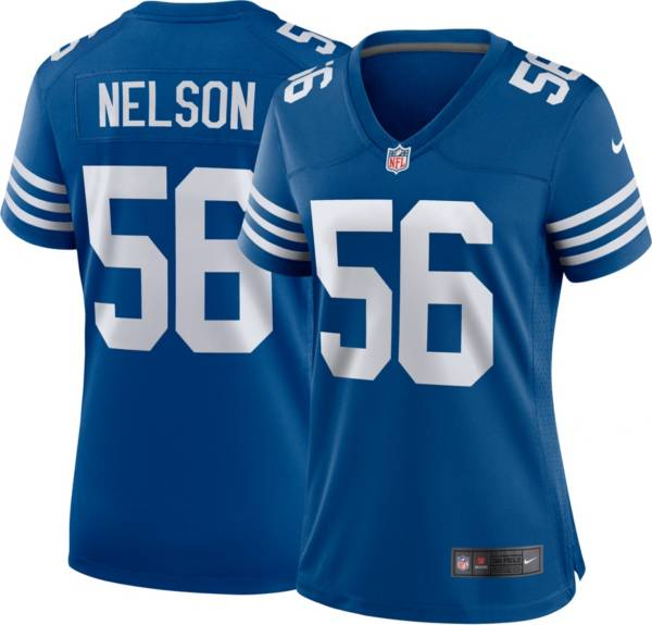 Nike Women's Indianapolis Colts Quenton Nelson #56 Alternate Blue Game Jersey product image