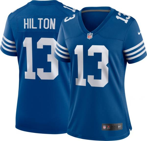 Nike Women's Indianapolis Colts T.Y. Hilton #13 Alternate Blue Game Jersey product image
