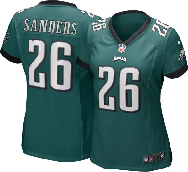 Nike Women's Philadelphia Eagles Miles Sanders #26 Green Game Jersey product image