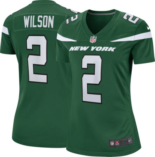Nike Women's New York Jets Zach Wilson #2 Green Game Jersey product image