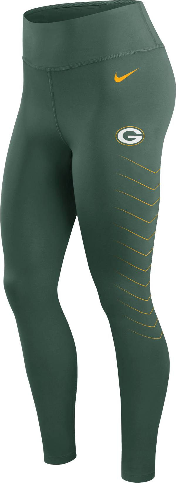 Nike Women's Green Bay Packers Dri-FIT Green Performance Leggings product image