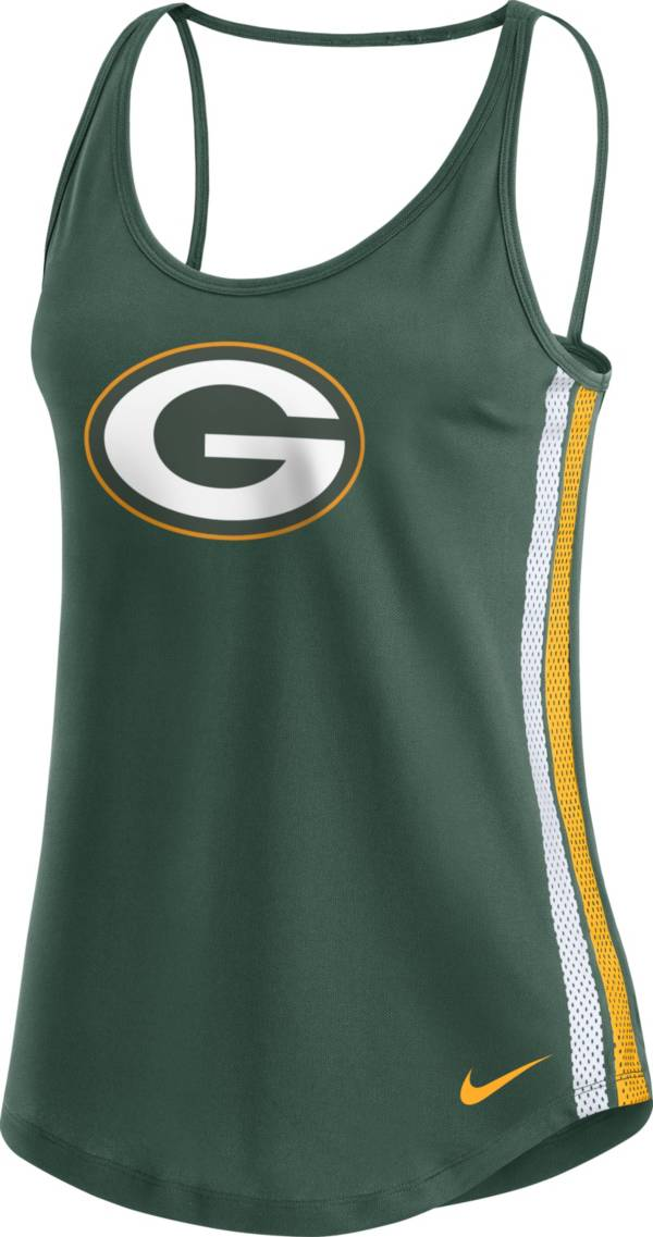 Nike Women's Green Bay Packers Dri-FIT Green Performance Tank Top product image