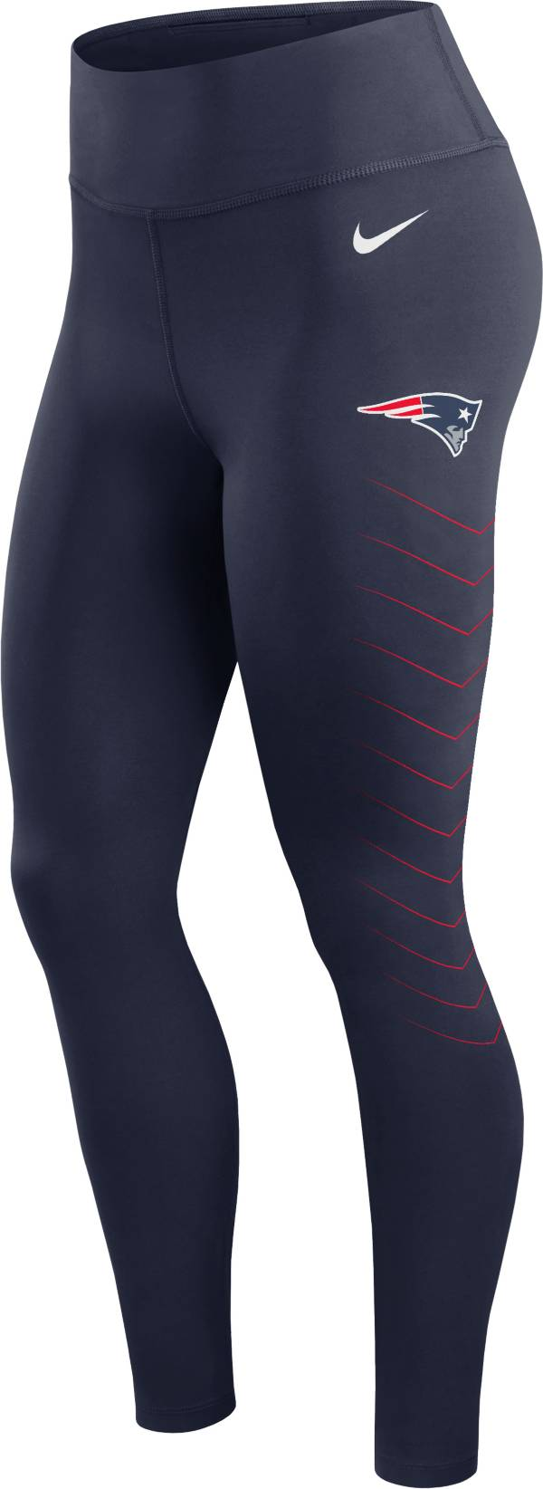Nike Women's New England Patriots Dri-FIT Navy Performance Leggings product image