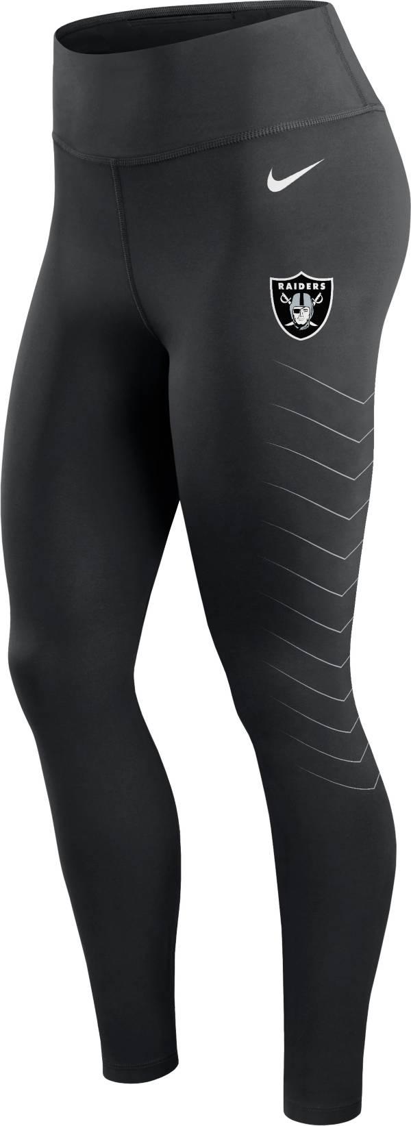 Nike Women's Las Vegas Raiders Dri-FIT Black Performance Leggings product image