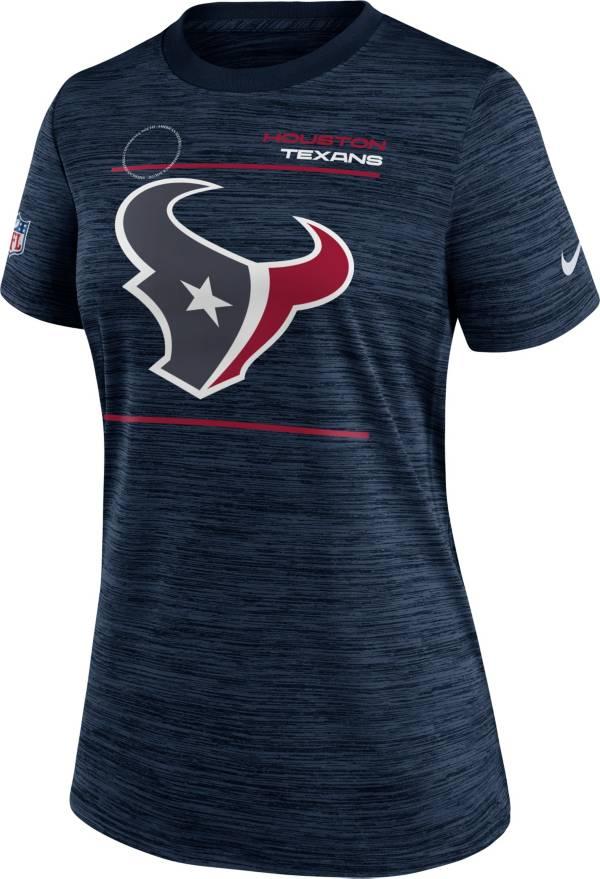 Nike Women's Houston Texans Sideline Legend Velocity Navy Performance T-Shirt product image