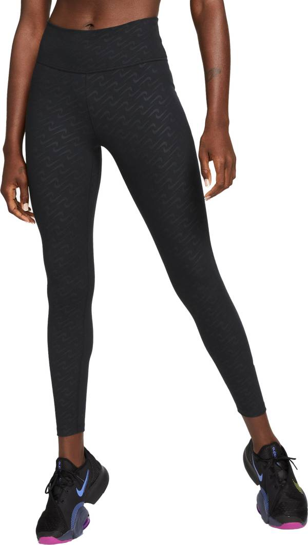 Nike Women's One Icon Clash All Over Print Leggings product image