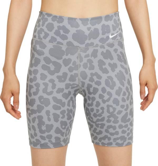 "Nike One Women's Leopard Print 7"" Bike Shorts product image"