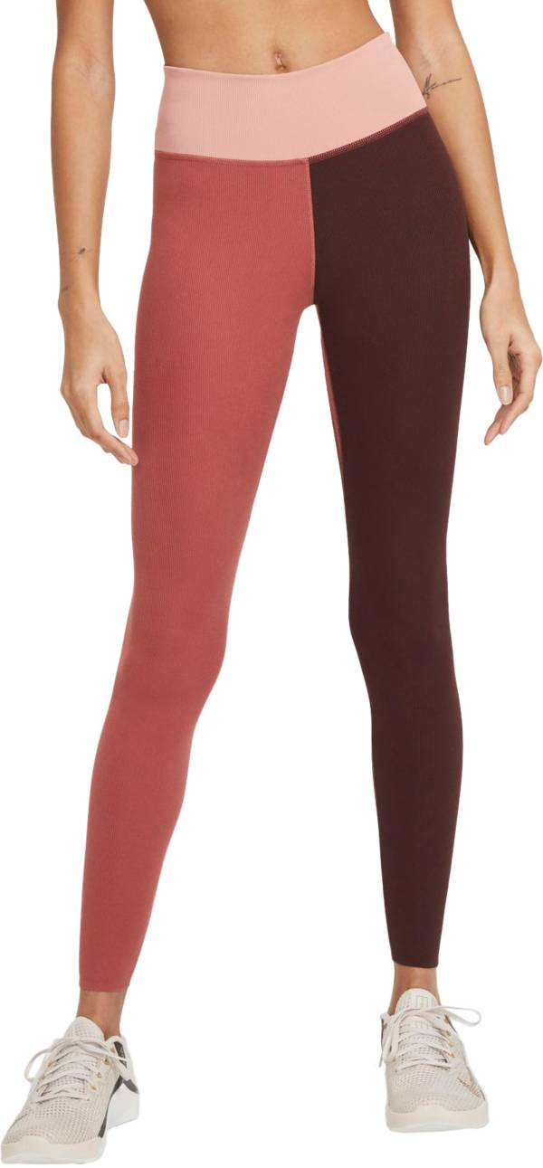 Nike One Women's Luxe Mid-Rise Ribbed Leggings product image