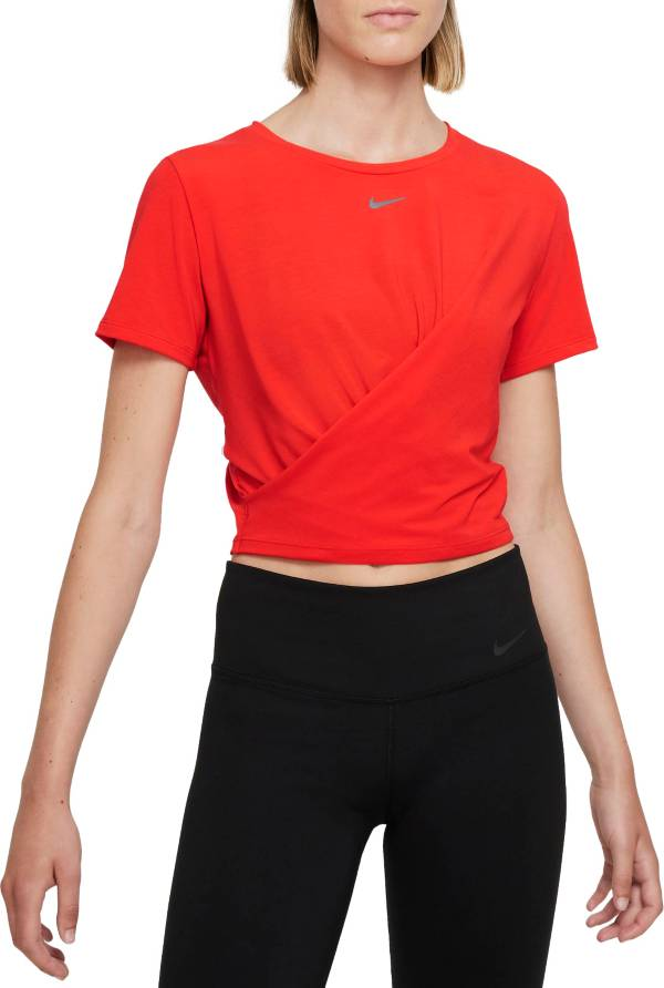 Nike Women's Dri-FIT One Luxe Twist Short-Sleeve Top product image