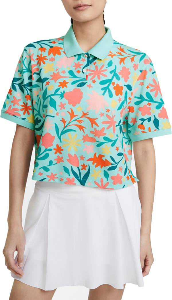 Nike Women's Printed Cropped Golf Polo product image