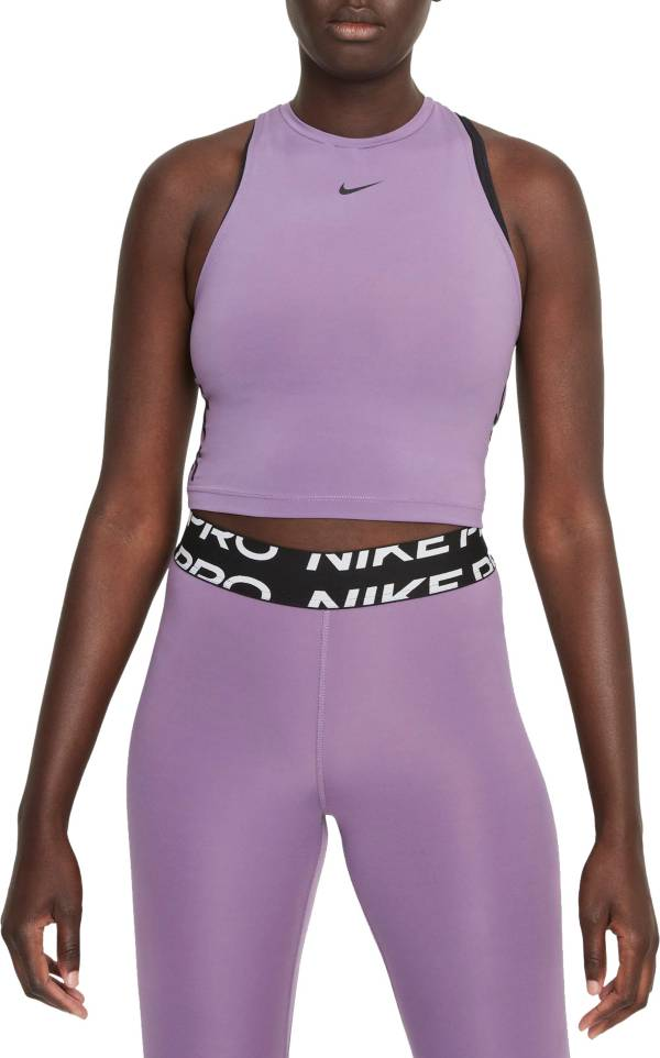 Nike Pro Women's Dri-FIT Cropped Graphic Tank Top product image
