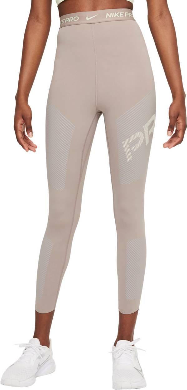 Nike Women's Pro Dri-FIT High-Waisted 7/8 Graphic Leggings product image