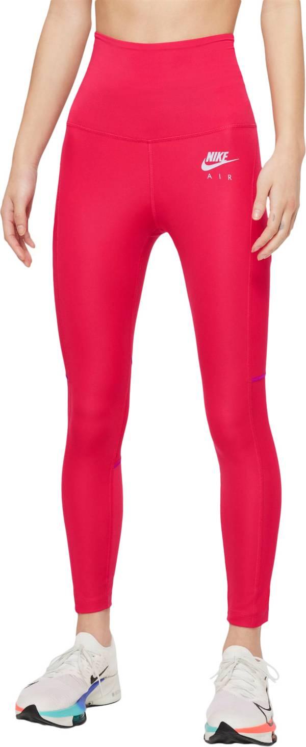 Nike Women's Air Dri-FIT Fold-Over Waist 7/8 Running Leggings product image