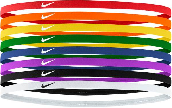 Nike Skinny Rainbow Headbands – 8 Pack product image