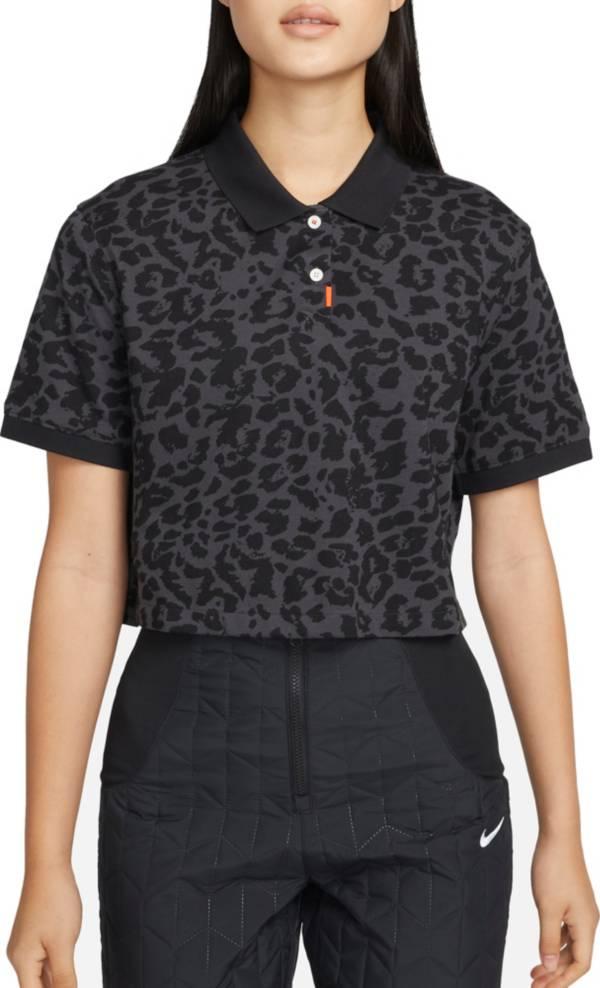 Nike Women's Animal Print Short Sleeve Golf Polo product image