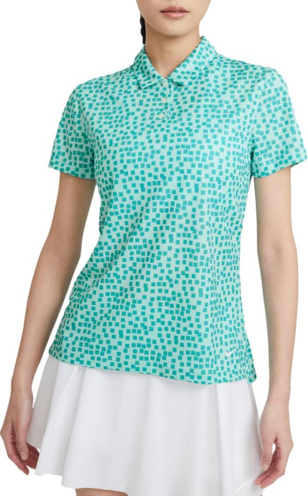 Nike Women's Victory Grid Short Sleeve Golf Polo product image
