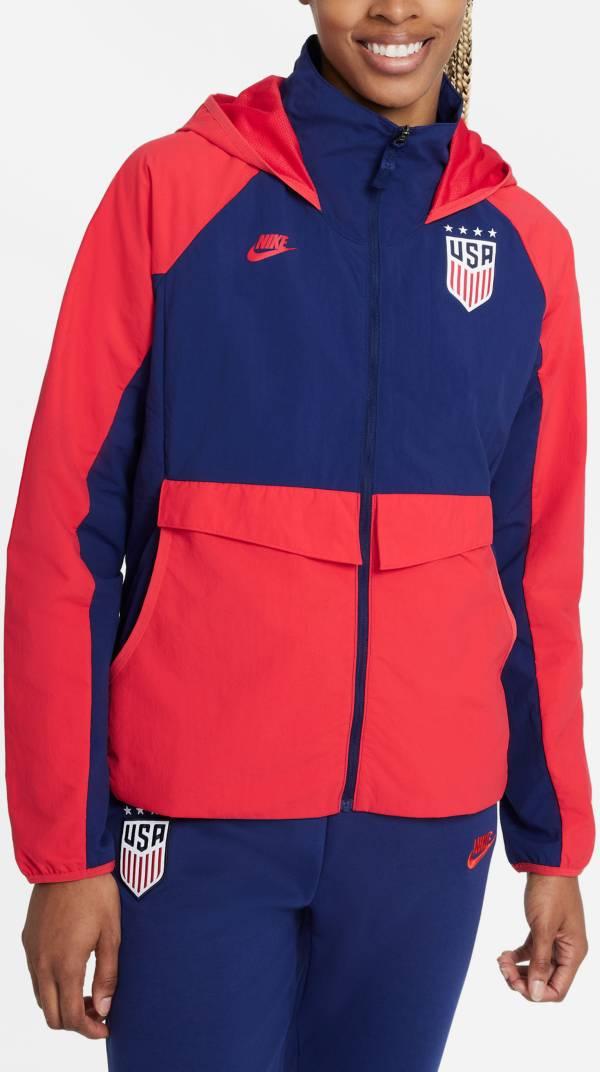 Nike Women's USA Soccer AWF Red Jacket product image