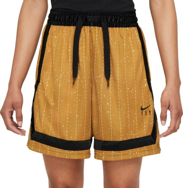 Nike Women's Dri-FIT Swoosh Fly Crossover Striped Basketball Shorts product image