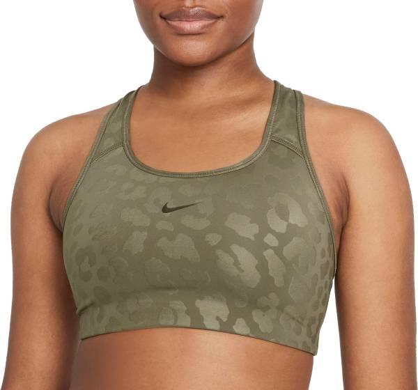 Nike Women's Pro Dri-FIT Swoosh Medium-Support 1-Piece Pad Leopard Sports Bra product image