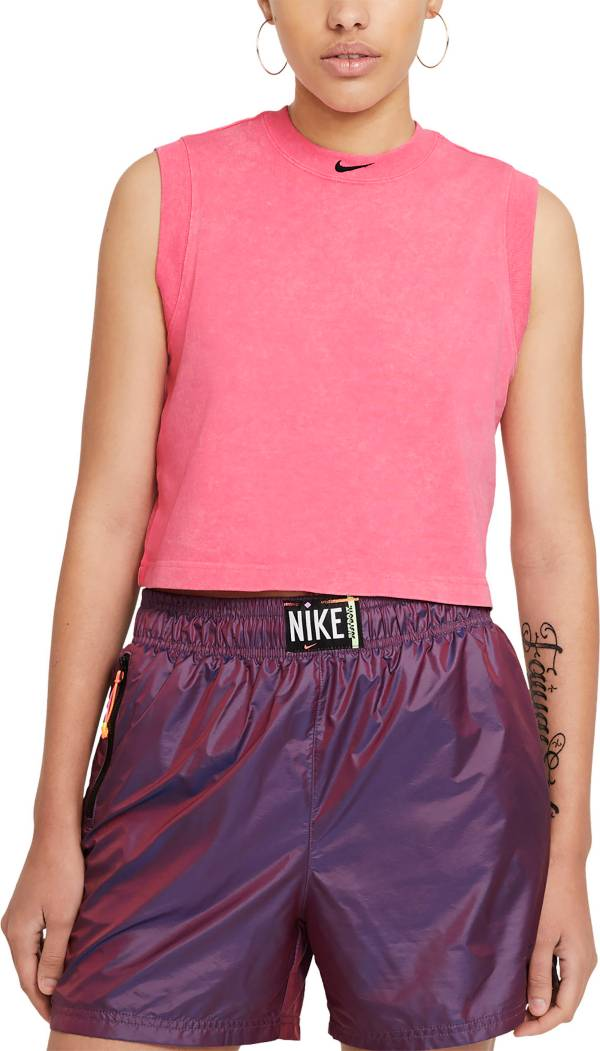 Nike Women's Sportswear Washed Cropped Tank Top product image