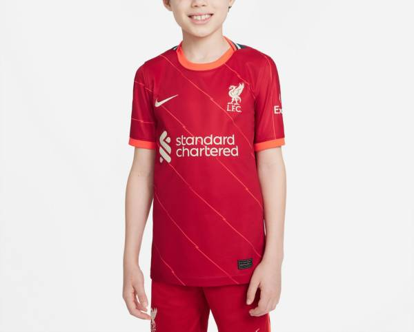 Nike Youth Liverpool '21 Breathe Stadium Home Replica Jersey product image