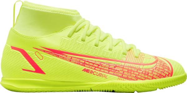 Nike Kids' Mercurial Superfly 8 Club Indoor Soccer Shoes product image