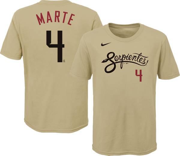 Nike Youth Arizona Diamondbacks Ketel Marte #4 Gold 2021 City Connect T-Shirt product image