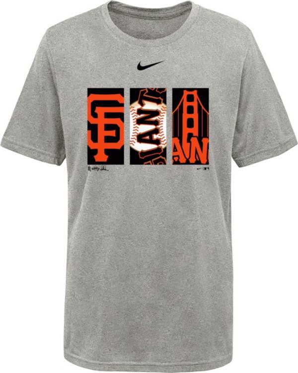 Nike Youth San Francisco Giants Grey Legend T-Shirt product image