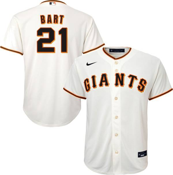 Nike Youth San Francisco Giants Joey Bart #21 White Replica Jersey product image