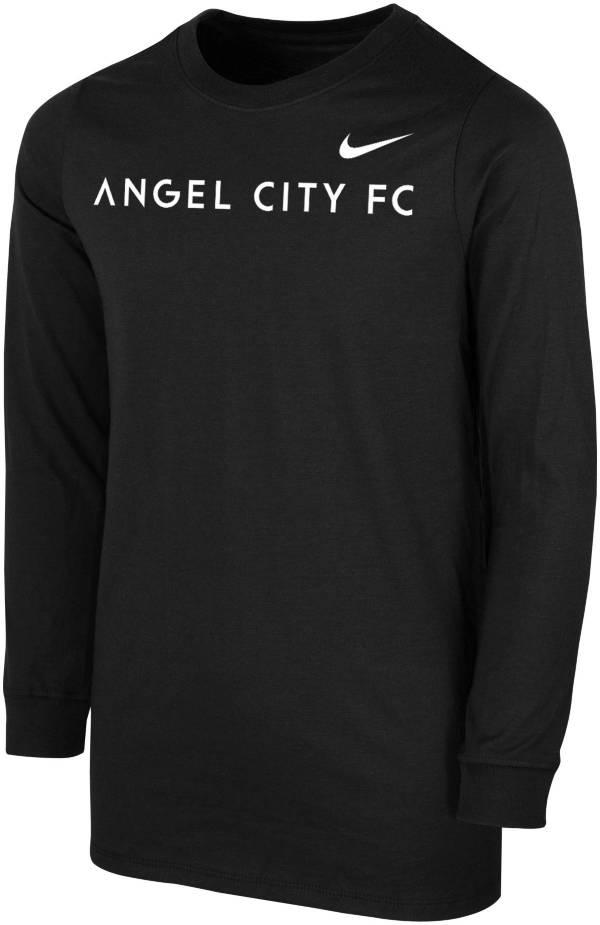Nike Youth Angel City FC Logo Black T-Shirt product image