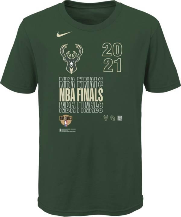 Nike Youth 2021 NBA Finals Bound Milwaukee Bucks T-Shirt product image