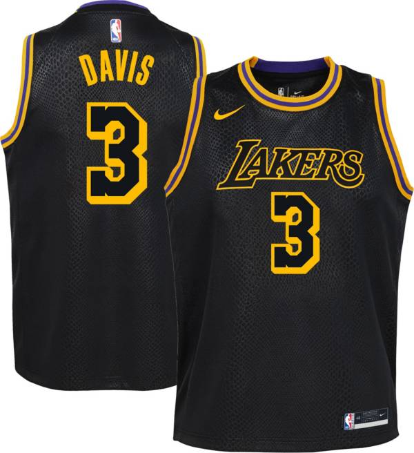 Nike Youth Los Angeles Lakers Anthony Davis Mamba Jersey
