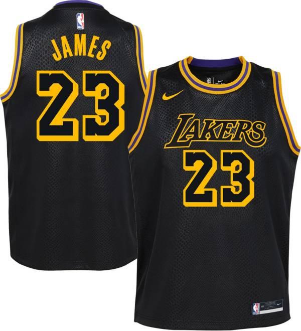 Nike Youth Los Angeles Lakers LeBron James Mamba Jersey